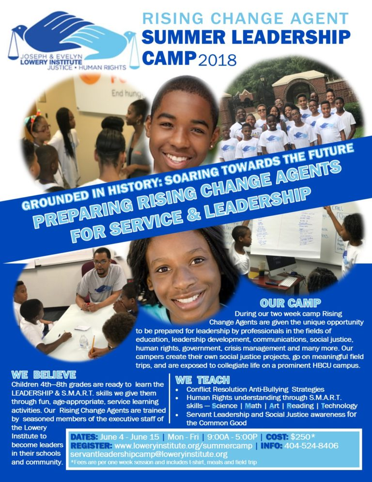 Rising Change Agent Servant Leadership Camp